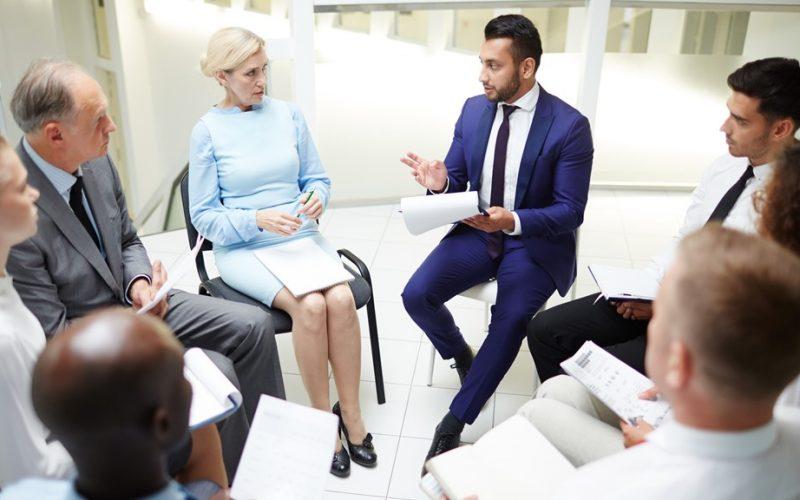 Coaching de equipas de gestão