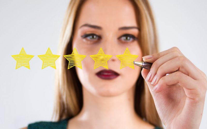 Bom serviço ou clientes satisfeitos?