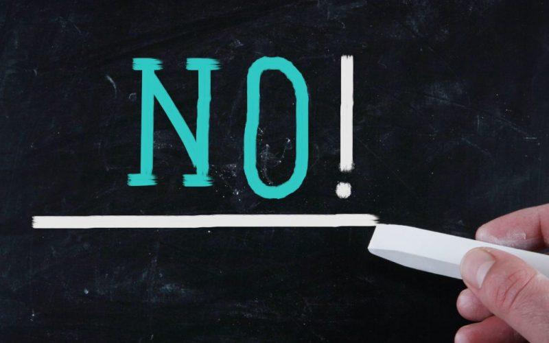 Quão eficaz é a dizer não?
